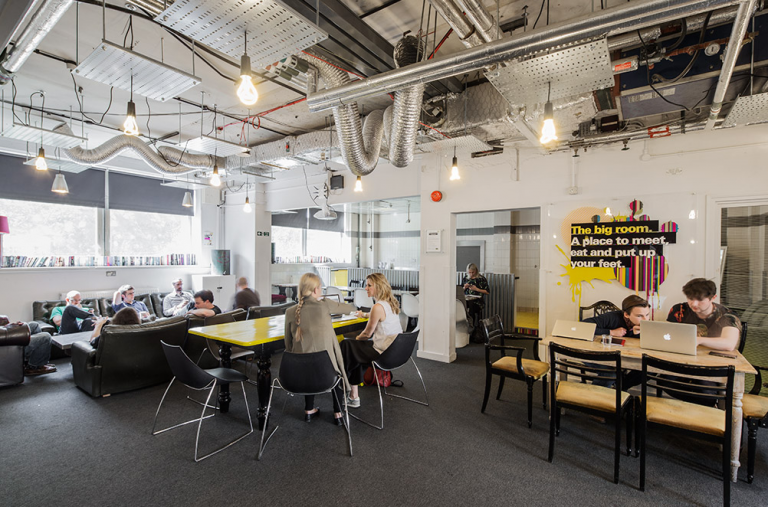 Ugli Campus workspace interior